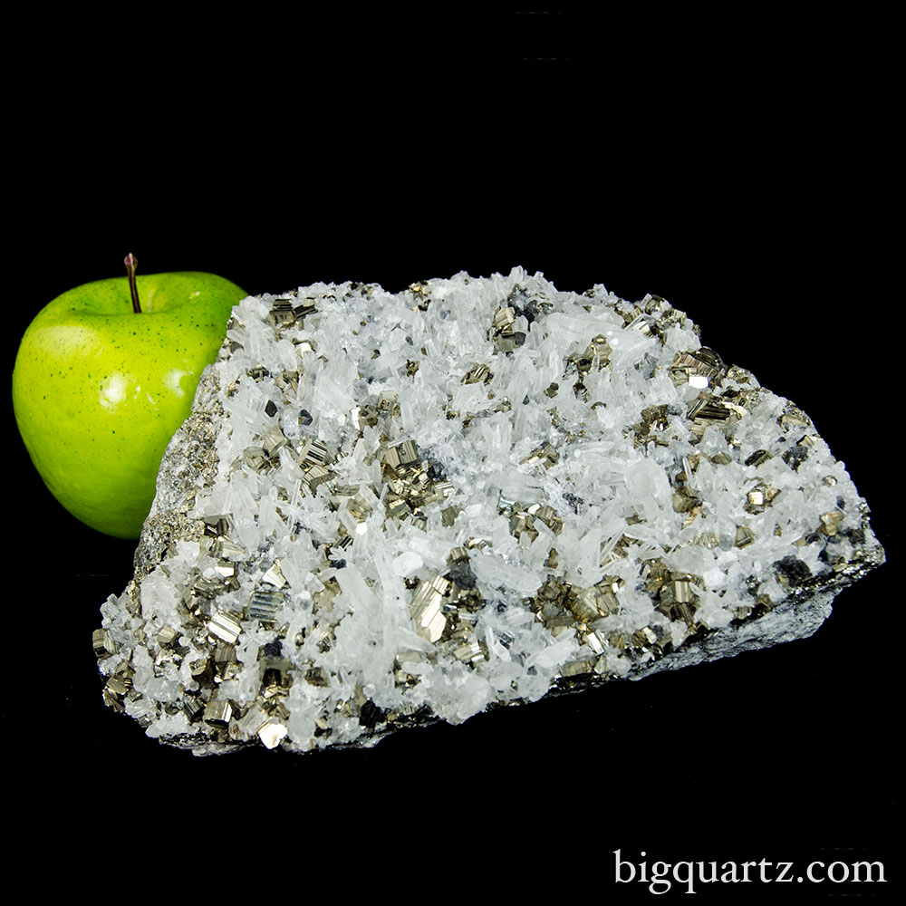 Quartz and Pyrite Cluster (Peru, 9503) 4.4 pounds