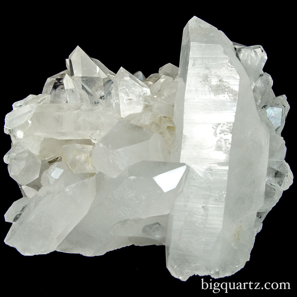 Quartz Cluster (Brazil, #9590) 4.7 pounds weight