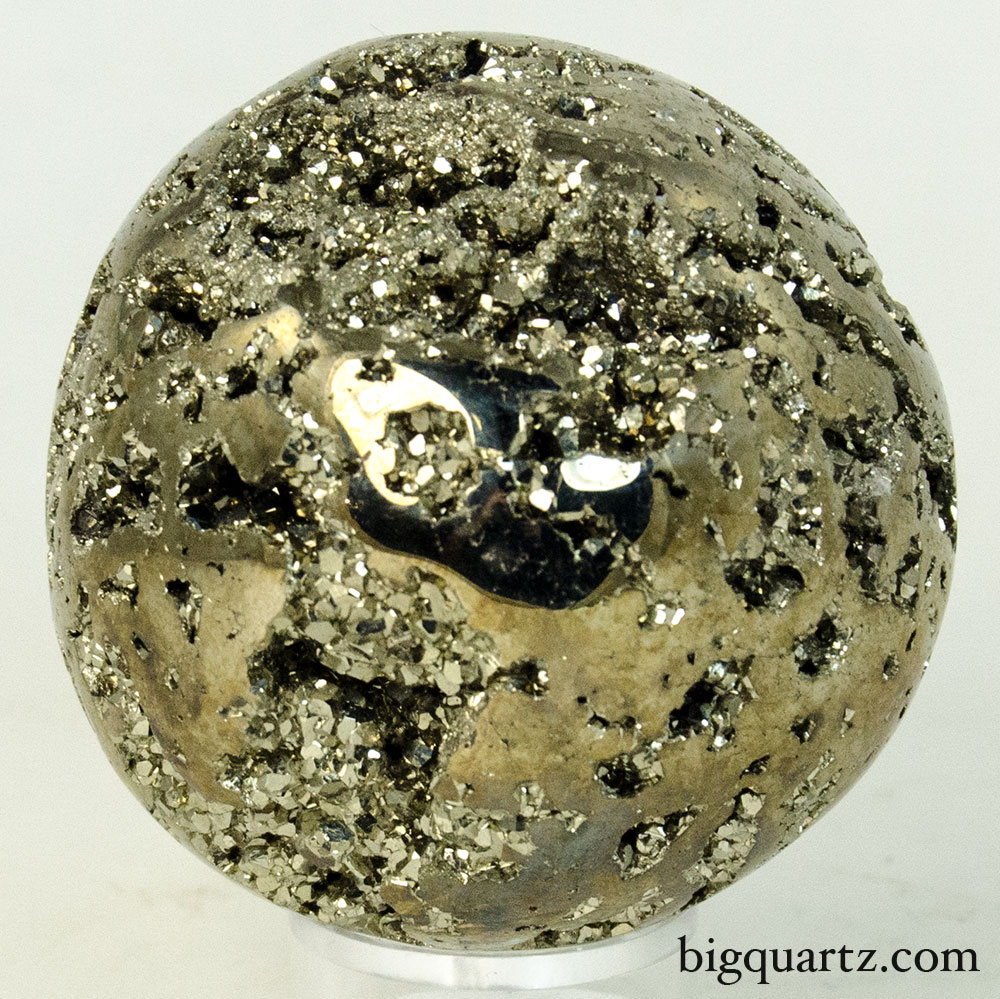 Pyrite Crystal Sphere (Peru, #9601) 0.75 pounds