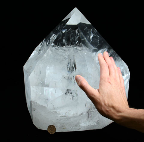 Large Brazilian Quartz Point (SOLD)