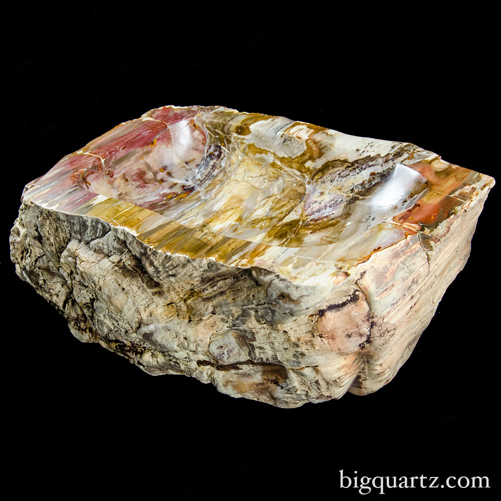 Petrified Wood Bowl (Madagascar #8501) 36.15 pounds