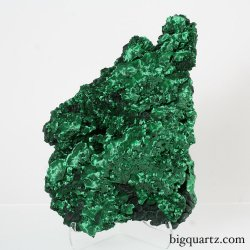 Fibrous Malachite Crystal (Congo #7527) 10.5 inches tall