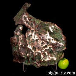 Large Glacier Drift Float Copper Mineral Specimen (Michigan #8647) 46.4 pounds weight