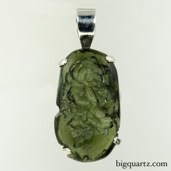 Moldavite Pendant (Czech Republic, #9516) 7.7 grams