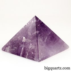 Amethyst Crystal Pyramid (Brazil, #A118) 208 grams weight