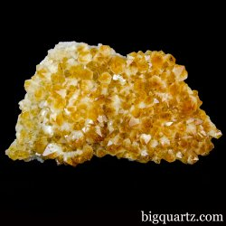 Heat Treated Citrine Crystal Geode (Brazil, #A131) 6.1 Pounds