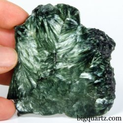 Seraphinite Slab (Russia, #A376) 59 grams weight