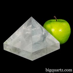 Clear Quartz Crystal Pyramid (Brazil #A076) 2.5 pounds weight