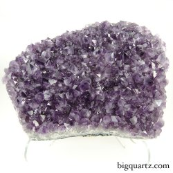 Amethyst Crystal Geode w/ stand (Brazil #8505) 13 inches tall