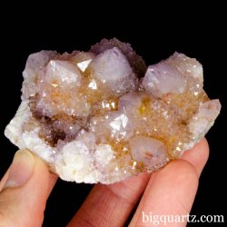 """Spirit Quartz"" Cactus Amethyst (South Africa #B039) 2.8 inches long"