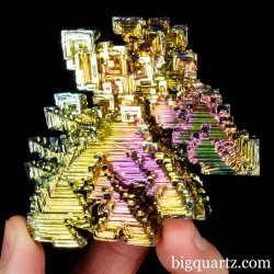 Bismuth Crystal Specimen, Lab-Grown (Germany #B093) 121 grams