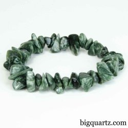 Seraphinite Bracelet (#B383) Gemstone Jewelry