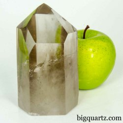 Smoky Quartz Crystal Point (Brazil #B483) 4.4 inches tall