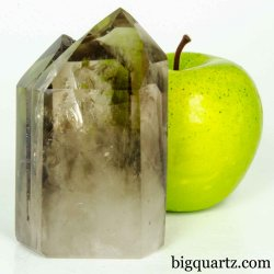 Smoky Quartz Crystal Point (Brazil #B493) 3.75 inches tall