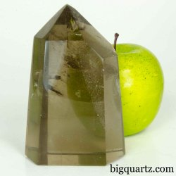 Smoky Quartz Crystal Point (Brazil #B495) 4.1 inches tall