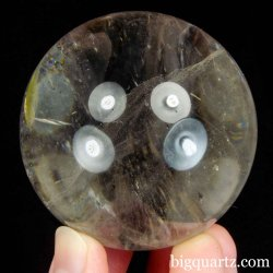 Clear Quartz Crystal Ball / Sphere (Brazil #B520) 2.4 inches