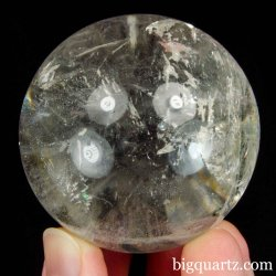 Clear Quartz Crystal Ball / Sphere (Brazil #B522) 2.1 inches