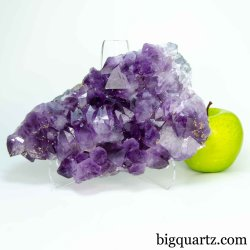Amethyst Crystal Geode Cluster (Brazil #B624) 8 inches wide