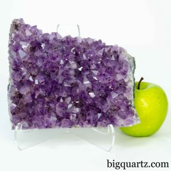 Amethyst Crystal Geode Cluster (Brazil #B626) 6.25 inches wide