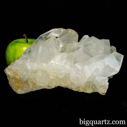 Clear Quartz Crystal Cluster, 7.25 inches wide, 4.7 pounds  (Brazil #B747) *VIDEO*