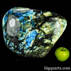 Large Labradorite Polished Free-Form Sculpture, 27.4 pounds weight, 12 inches wide (Madagascar #B823) *VIDEO*