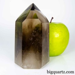 Smoky Quartz Crystal Point, 4 inches tall (Brazil #B870)