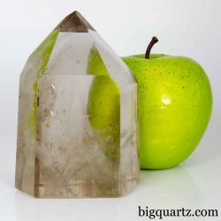 Smoky Quartz Crystal Point, 3.7 inches tall (Brazil #B872)