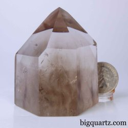 Smoky Quartz Crystal Point, 2.25 inches tall (Brazil #D104)
