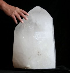 Extra Large Natural Quartz Crystal Point (Brazil #41) 143 pounds