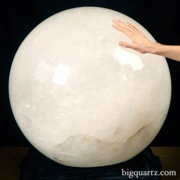 1,100 Pound Quartz Crystal Sphere (Brazil #154)