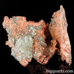 Natural Copper Nugget w/ Quartz (Michigan, #A061) 9.8 Pounds