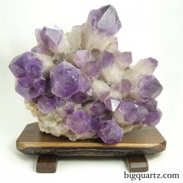 Amethyst Crystal Cluster on Custom Stand (Bolivia #8454) 80 pounds