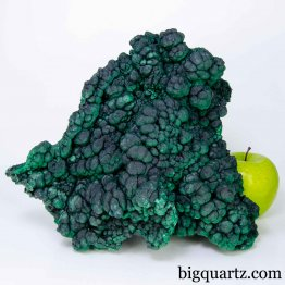 Botryoidal Malachite Large Mineral Specimen, 10.8 pounds, 9.5 inches wide (Congo #B879) *VIDEO*