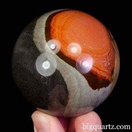 Polychrome Jasper Crystal Sphere, 2.2 inches (Madagascar #B965)