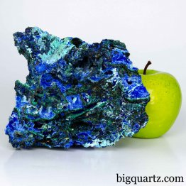 Azurite & Malachite Mineral Specimen, 2.9 pounds, 5.25 inches wide (China #D002) *VIDEO*