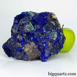 Azurite & Malachite Mineral Specimen, 2.7 pounds, 6 inches wide (China #D003) *VIDEO*