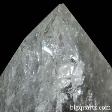 Extra Large Laser Quartz Crystal Point with Stand (Brazil #6828) 48.6 pounds