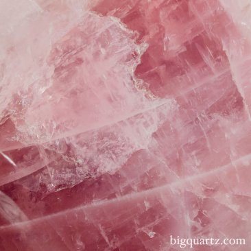 Large Rose Quartz Crystal Flame (Brazil #8673) 22 inches tall