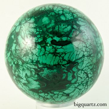 Malachite Sphere (Congo, #9190) 4 pounds