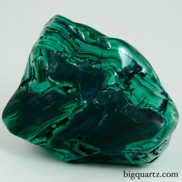 Polished Malachite Crystal Specimen (Congo, #9627) 2.7 pounds