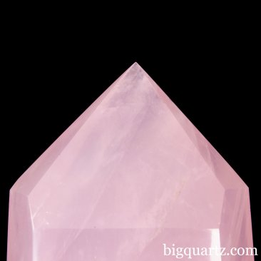 Extra Large Rose Quartz Crystal Point (Madagascar, #A280) 17.4 pounds weight