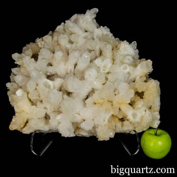 Large Sprouting Quartz Crystal Cluster, 16.5 inches wide, 50 pounds  (Madagascar #B782) *VIDEO*
