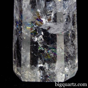 Clear Quartz Crystal Obelisk Sculpture, 9 inches tall (Brazil #B856) *VIDEO*