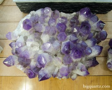 Large Amethyst Crystal Cluster (Bolivia #52) 250 pounds