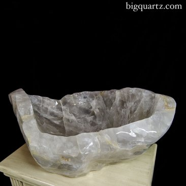Large Girasol Quartz Crystal Bowl (Madagascar #6186) 325 pounds