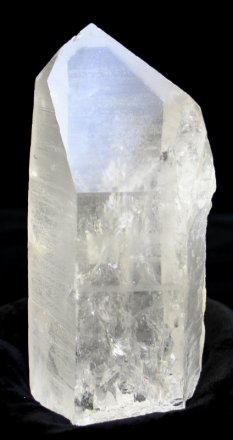 Large Lemurian Quartz Crystal Point (Brazil #679) 6.75 inches long