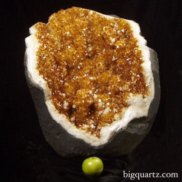 Large Heat-Treated Citrine Crystal Geode (Brazil #49) 282 pounds