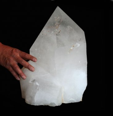 Extra Large Quartz Crystal Point with Polished Faces (Brazil #43) 127.4 pounds