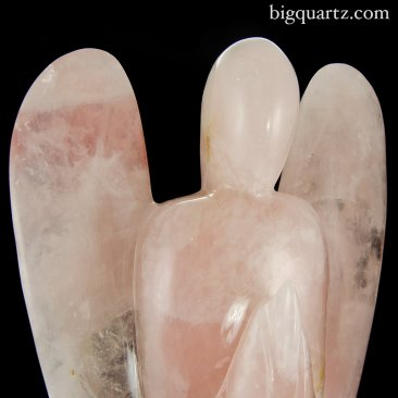 Large Rose Quartz Angel (Brazil #8677) 15.5 inches tall (SOLD)